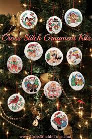 cross stitch ornament kits cross stitch in time