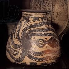 Minoan Octopus Vase Octopus Vase From Palaikastro Crete C 1500 Bc Pottery