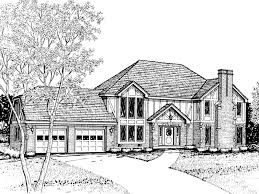 essex tudor style home plan 008d 0039 house plans and more