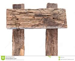 weathered wood sign stock photo image of information 35370142