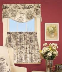 French Country Window Valances Add Stylish French Country Curtains For Antique Decoration