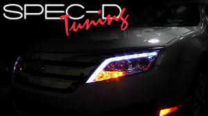 2009 ford fusion accessories specdtuning installation 2010 2012 ford fusion led