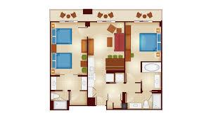 disney saratoga springs floor plan copper creek villas and cabins at disney u0027s wilderness lodge rooms
