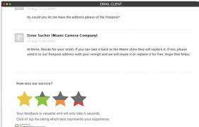 customer survey ratings customer thermometeremail survey