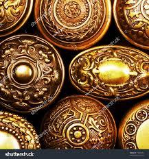 Brass Door Knobs Vintage Brass Door Knobs Stock Photo 15863224 Shutterstock