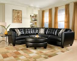 living room luxury black living room decoration with cozy white
