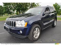 cherokee jeep 2005 2005 jeep grand cherokee limited 4x4 in midnight blue pearl