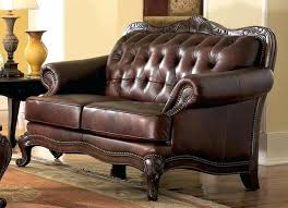 Leather And Wood Sofa Leather Furniture With Wood Trim Srjccs Club