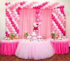 Table Decorating Balloons Ideas Best 25 Pink Party Tables Ideas On Pinterest Pink Party Themes
