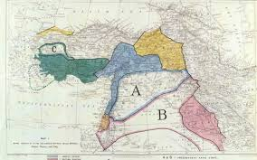 Middle East On Map by Paul Mason On Sykes Picot How An Arbitrary Set Of Borders Created