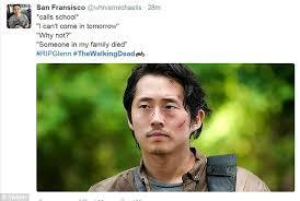 Glenn Meme - walking dead fans react to glenn s death on twitter with shock