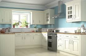 IT Holywell Cream Style Classic Framed DIY At BQ - B and q kitchen cabinets