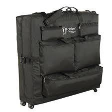 earthlite massage table bag master massage universal wheeled massage table carry case bag for