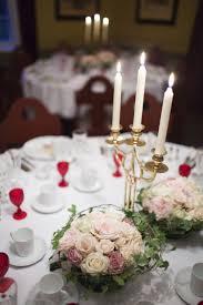 bougeoir mariage décoration de table mariage en 28 idées pour la table ronde