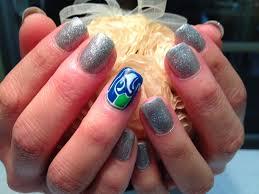 y u0027s nail blog seahawks nail designs