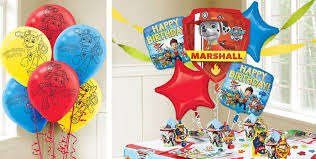 balloon delivery wilmington nc paw patrol balloons paw patrol birthday balloons party city