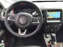 jeep compass trailhawk interior on the road review jeep compass trailhawk 4x4 mount desert islander