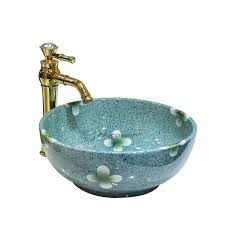 round sink bowl beautiful bowl sink round shaped retro bathroom sinks