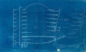 design blueprints frank lloyd wright s early blueprints of the guggenheim reveal