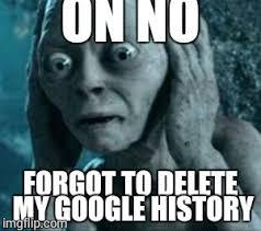 Gollum Memes - scared gollum imgflip
