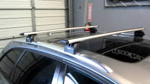 audi a4 avant with thule 460r aeroblade base roof rack by rack