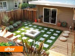 Apartment Backyard Ideas And Justins Backyard Before After My Great Outdoors Apartment