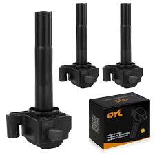 lexus es300 coils amazon com qyl pack of 3 ignition coil for toyota 96 03 lexus