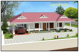 1320 sqft traditional single floor kerala home design traditional