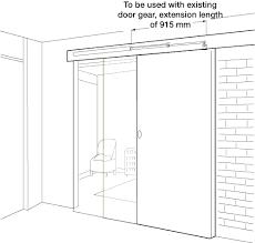 Standard Size Patio Door by Surface Overhead Sliding Door Closer Hfele Uk Ltd Standard Patio