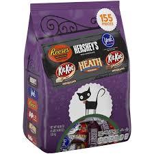 hershey u0027s halloween miniatures assorted candy 155 pieces hy vee