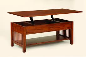 Coffee Tables With Lift Up Tops by Hinged Coffee Table Tables Mission Kit Lift Top Thippo