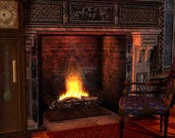 animated fire desktop wallpaper wallpapersafari fireplace live