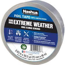 home designer pro hvac nashua tape 2 83 in x 50 yd 330x extreme weather hvac foil tape