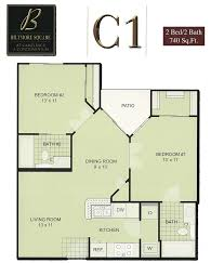 1 Bedroom Condo Floor Plans biltmore square condo floor plans