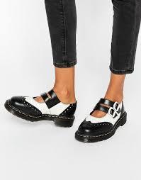 dr martens womens boots sale dr martens dr martens adena ii flat shoes at asos