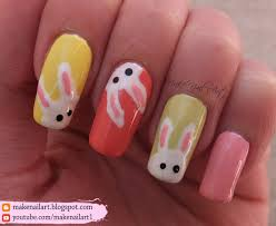 cute easy easter nail art tutorial youtube tutorial how to do an