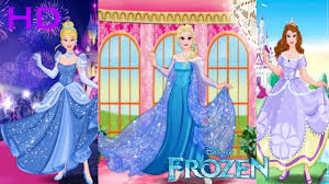 disney princess frozen elsa barbie cinderella belle rapunzel