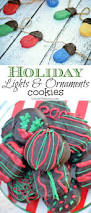 holiday light and ornament cookies eclectic momsense