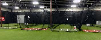 Basement Batting Cage by U S Sports Turf Athletic Multipurpose Lawn Playground And