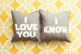 wedding gift anniversary wars i you i pillow cover set wedding gift