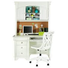 oberon white computer desk and hutch rooms to go kids d