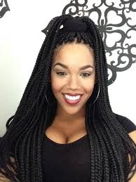 box braids hairstyles for black women brown and black box braids braiding hairstyle pictures