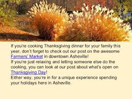 8 ashevillian thanksgiving facts