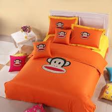 Orange Comforter Buy Paul Frank Orange Comforter Set Queen 4pcs For Kids U0026 Teens