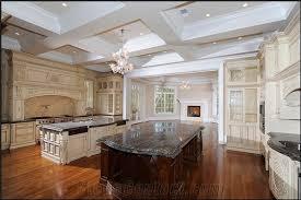 black fusion granite kitchen countertop kitchen island from