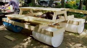 floating picnic table for sale build an awesome floating picnic table your projects obn