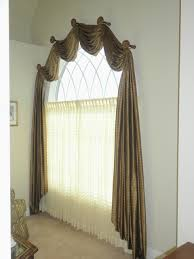 Arch Window Curtain Home Interior Bedroom Curtain On Arched Window Treatment Design