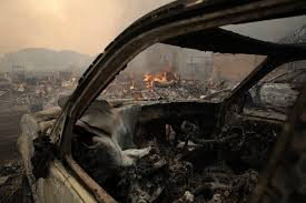 Wildfire Sacramento Area by At Least 10 Dead In Raging Northern California Wine Country