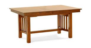 laurelhurst solid oak mission dining table hom furniture