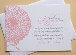 thank you for sympathy card thank you for sympathy card 25 unique sympathy thank you notes ideas